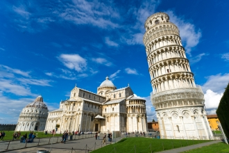2nt Rome & 2nt Pisa inc Flights