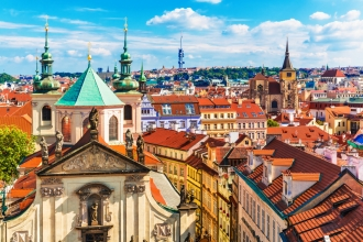 4 Star 2nt Prague & 2nt Budapest inc Flights
