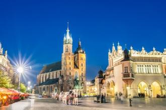 2nt Prague & 2nt Krakow inc Flights & Breakfast