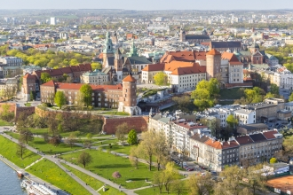 4 Star 2nt Krakow & 2nt Warsaw inc Flights & Train