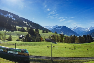 3nt France to Switzerland, Golden Pass Experience, Train, Ferry & Flights