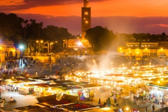 5Nts Marrakech & Essaouira Break with B'Fast, Flights & Transfers save upto 30%