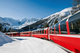 3nt Italy to Switzerland, Bernina Express & Flights
