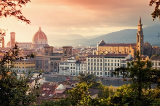 6nt Rome, Florence & Venice, Flights & Train Transfer