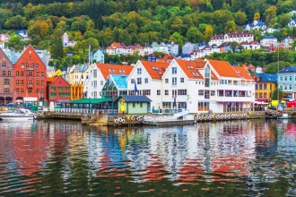 4nt Oslo & Bergen, Internal & Flights