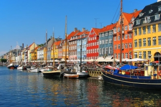 4nt Stockholm & Copenhagen, Internal & Return UK Flights